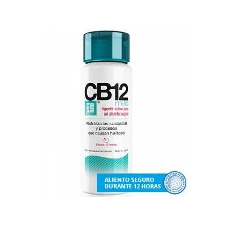 CB 12 mild enjuague bucal suave buen aliento 250 ml
