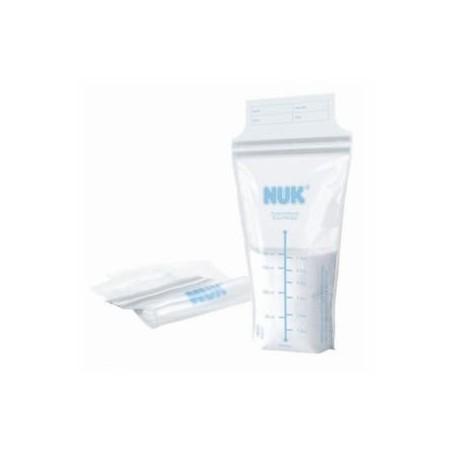 Bolsas para almacenamiento de leche materna Nuk 25 unidades