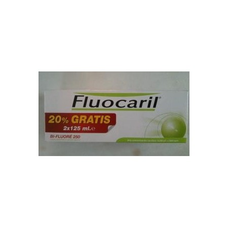 FLUOCARIL BI-FLUORE 250  DUPLO 2 X 125 ML