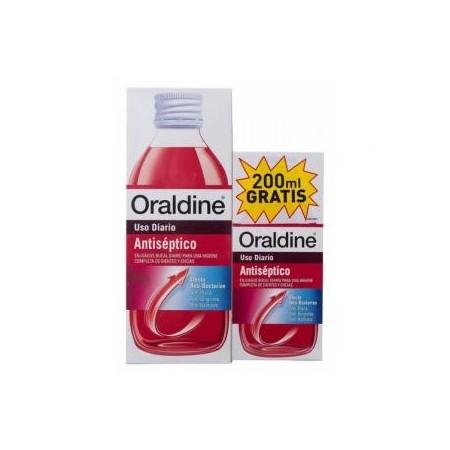 Oraldine colutorio pack ahorro 400 ml + 200 ml gratis