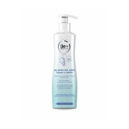 BE+ PEDIATRICS GEL SIN JABON 500 ml