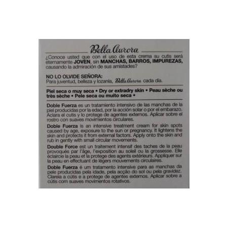 BELLA AURORA DOBLE FUERZA ORIGINAL PIEL SECA 30 ML