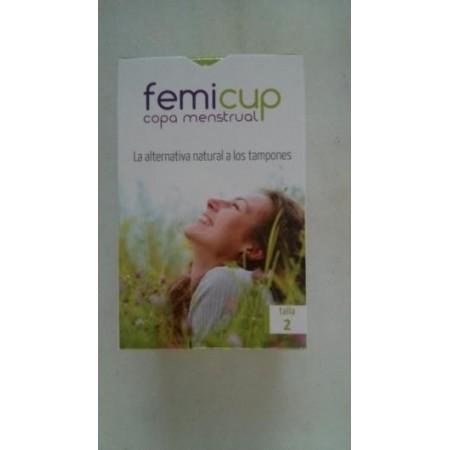 Femicup copa menstrual talla 2 (grande)
