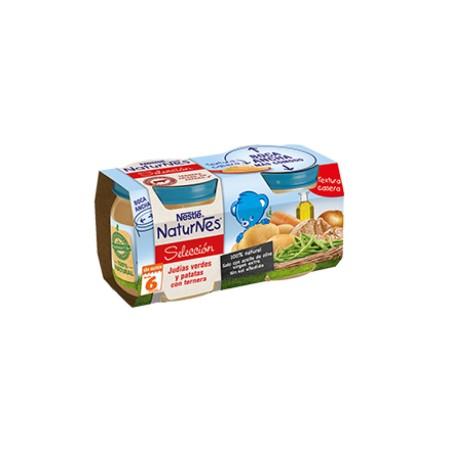 Nestlé Naturnes selcción verduras con ternera 2x200 g