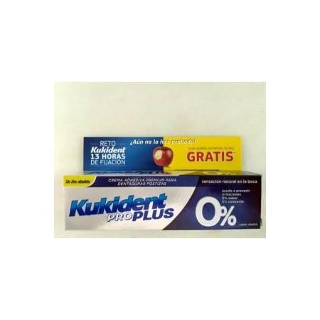Kukident pro plus 0 % crema adhesiva 40 g