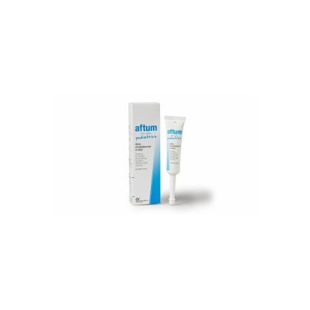 Aftum gel oral pediátrico 15 ml.