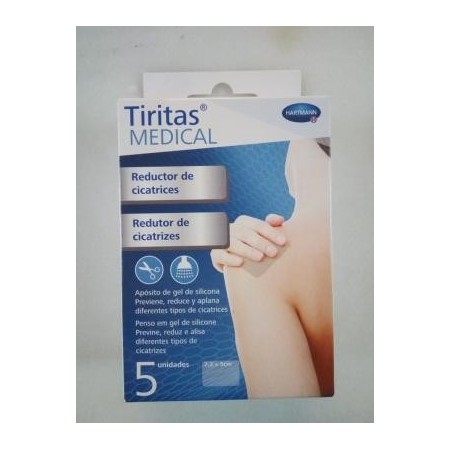 TIRITAS MEDICAL CICATRICES 7,2 X 5 CM