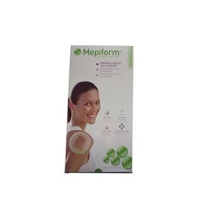 Mepiform silicona reductor de cicatrices 10x18 cm 5 unidades