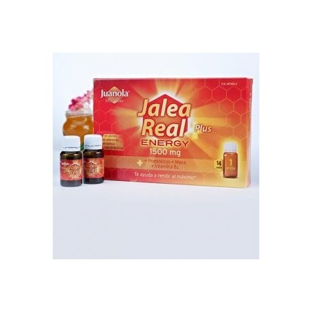 Jalea Real Plus Energy 1500 mg 14 viales