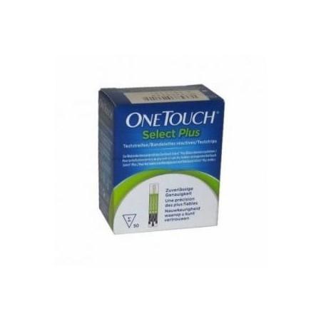 Tiras reactivas glucemia OneTouch Select Plus 100 tiras
