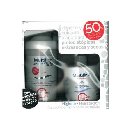 Pack multilind loción 500 ml + gel de baño 500 ml