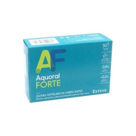 AQUORAL FORTE MONODOSIS C/ A HIALURONICO 0.4% GOTAS OFTALMICAS