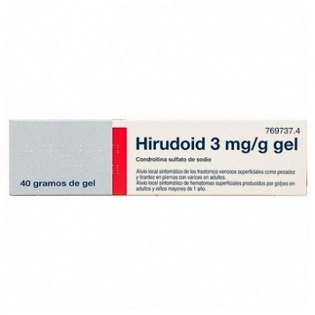 HIRUDOID 3 MG/G GEL TOPICO 40 G