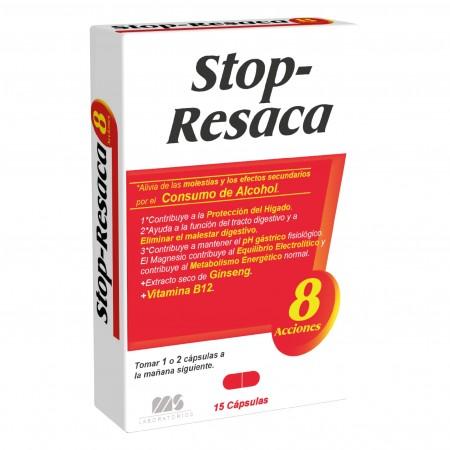 STOP RESACA 15 CAPSULAS