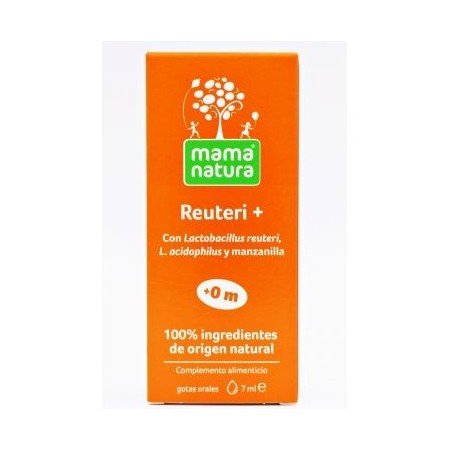 MAMA NATURA REUTERI + GOTAS ORALES 7 ML