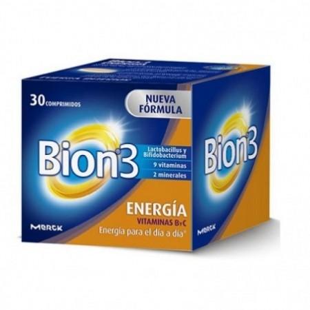 BION3 ENERGIA 30 COMPRIMIDOS