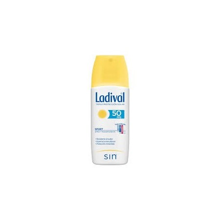 LADIVAL SPORT SPRAY TRANSPARENTE PFS50+ 150 ML