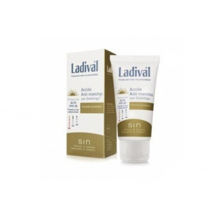 LADIVAL ANTIMANCHAS TOQUE SECO FPS 50+  COLOR 50 ML
