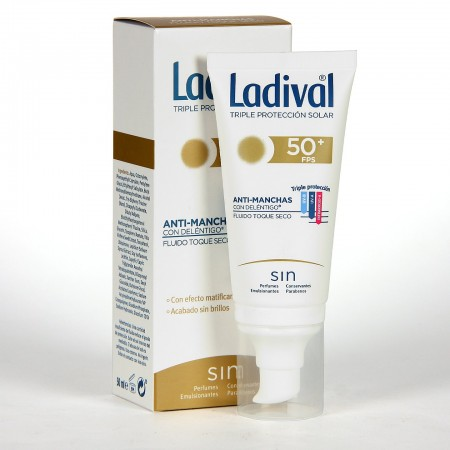 LADIVAL ANTIMANCHAS TOQUE SECO FPS 50+ 50 ML