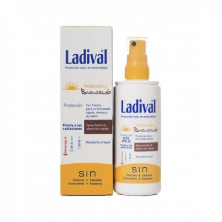 LADIVAL PROTECCION Y BRONCEADO SPRAY FPS50+ 150 ML