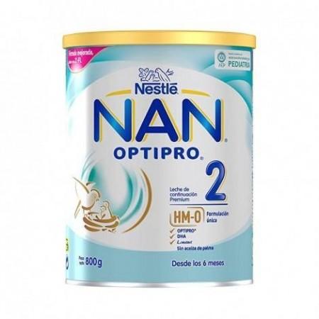 NAN 2 OPTIPRO LECHE DE CONTINUACIÓN 800 G