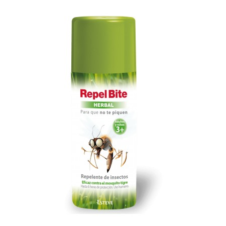 REPEL BITE HERBAL REPELENTE DE INSECTOS USO HUMANO SPRAY 100 ML