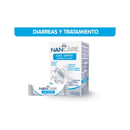 NAN CARE FLORA SUPPORT 14 SOBRES X 1.5 G