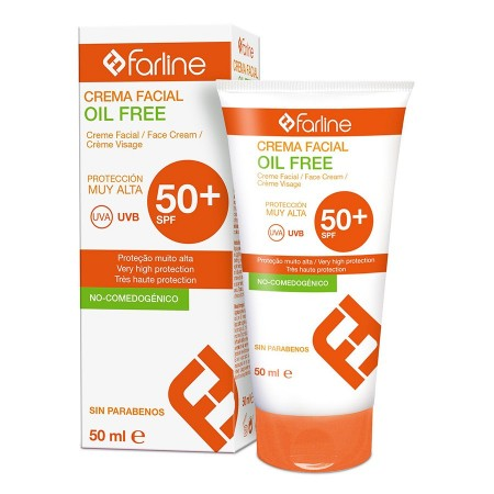 FARLINE SOLAR SPF 50+ FACIAL CREMA OIL FREE 50 ML