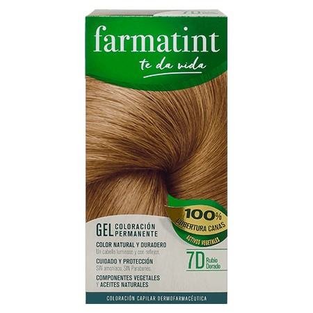 FARMATINT 7D  RUBIO DORADO 135 ML