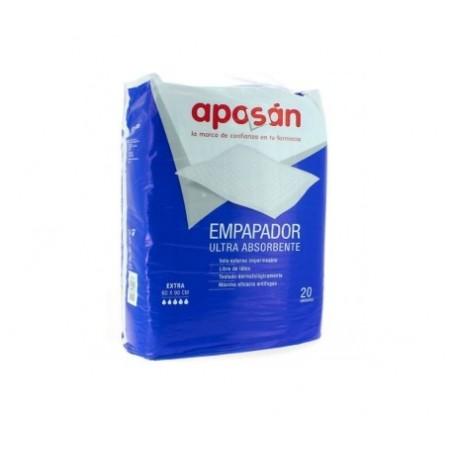 EMPAPADOR ULTRA ABSORBENTE APOSAN 60 X 90 CM 20 U