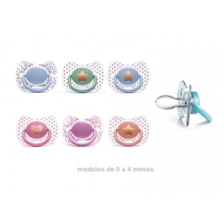 Chupete fisiológico Suavinex haute couture 0-4 meses