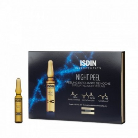 ISDINCEUTICS NIGHT PEEL  2 ML 10 AMPOLLAS