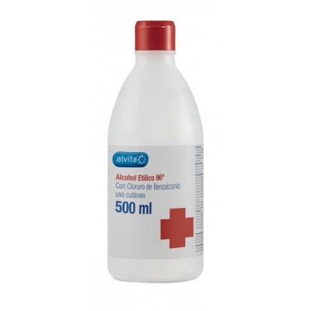 Alcohol 96º Alvita 500 ml