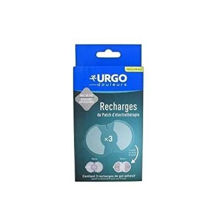 URGO 3 RECARGAS DE GEL PARCHE ELECTROTERAPIA