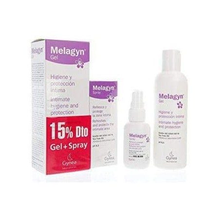 MELAGYN DUO PROTECCION INTIMA 50 ML SPRAY + 200 ML GEL