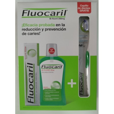 FLUOCARIL PACK PASTA+COL+CEPILLO
