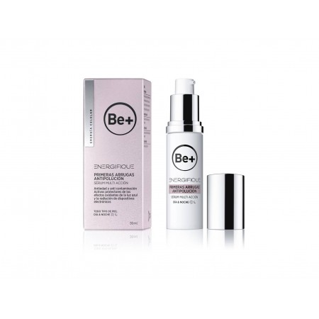 BE+ ENERGIFIQUE PRIMERAS ARRUGAS ANTIPOLUCION SERUM MULTI ACCION 1 ENVASE 30 ML