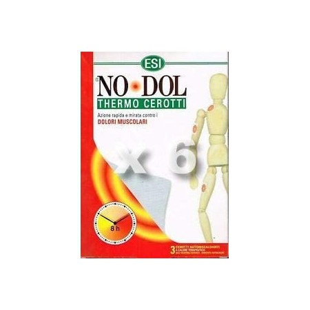 NO DOL THERMO PARCHES (BOLSA 3 UND.)