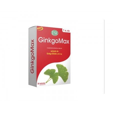 GINKGOMAX 30 TABLETAS