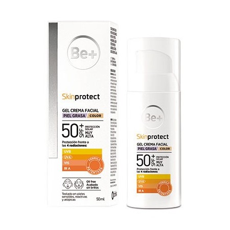 BE+ SKIN PROTECT PIEL CON TENDENCIA ACNEICA SPF5 COLOR 50 ML