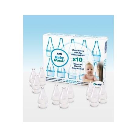 Kin Baby Nasal 10 recambios blandos