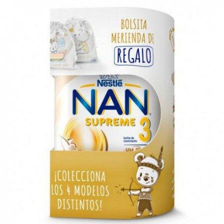 NAN 3 SUPREME 1 ENVASE 800 G + REGALO