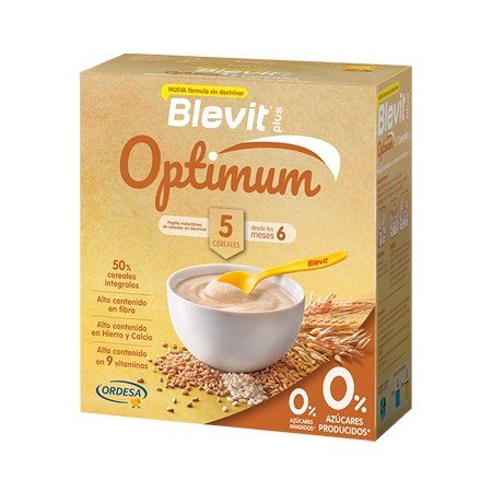 BLEVIT PLUS OPTIMUM 5 CEREALES 400 G
