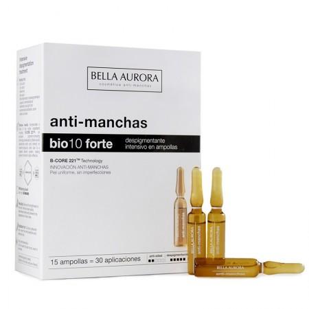 BELLA AURORA BIO10 FORTE AMPOLLAS DESPIGMENTANTE 2 ML 15 U