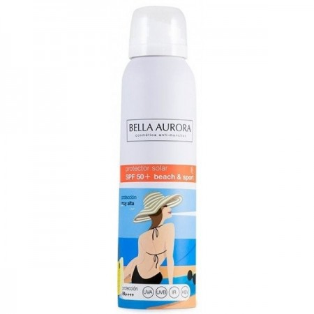 BELLA AURORA BEACH & SPORT BRUMA SPF50+ SPRAY 150 ML