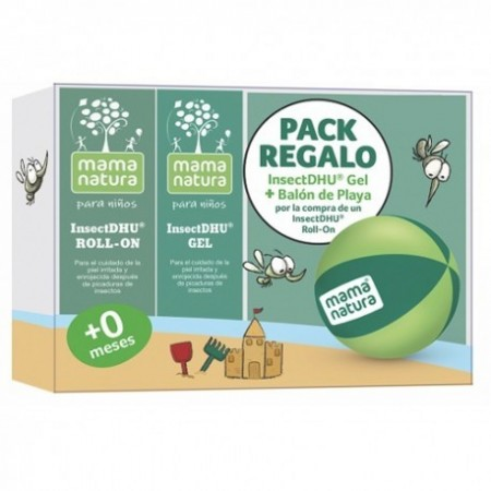PACK INSECTDHU GEL 20G + ROLL-ON 10ML + REGALO BALON