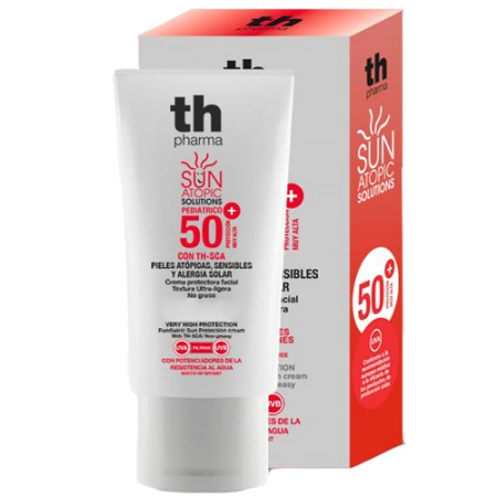 TH ATOPIC SUN PROTECTOR FPS50+ FACIAL PEDIATRICO 50 ML