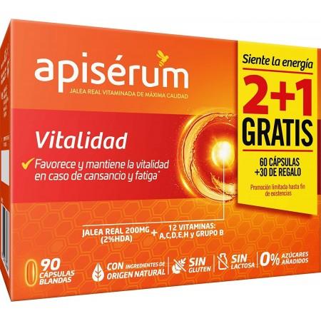 APISERUM VITALIDAD 60+30 CAPSULAS