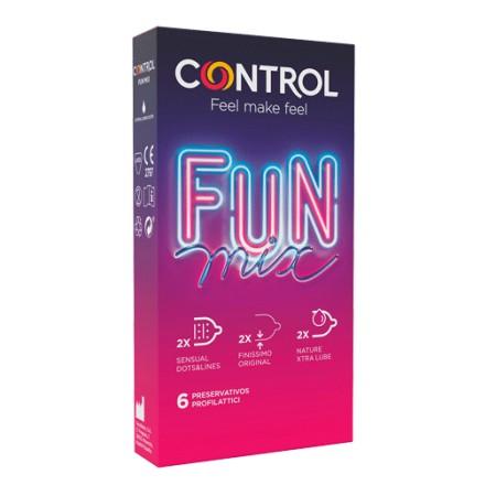 CONTROL FUN MIX 6 PRESERVATIVOS