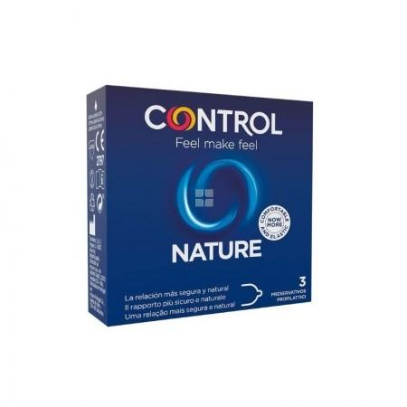 CONTROL NATURE 3 PRESERVATIVOS